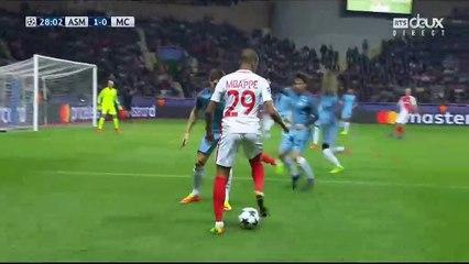 Fabinho Goal HD - AS Monaco 2-0 Manchester City - 15.03.2017 HD