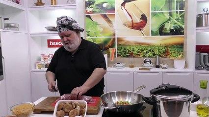Fideos a la cazuela con solomillo de cerdo | Javier Romero