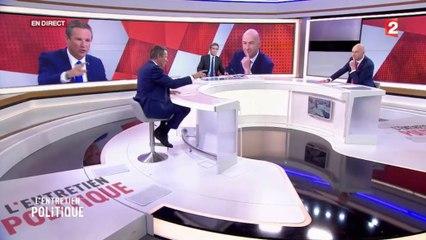 Nicolas Dupont-Aignan invité de l'entretien politique sur France 2