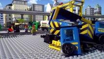 High-Speed Passenger Train 60051 & Cargo Train 60052 - Lego City