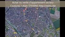 Achetez ou vendez un appartement, une maison à Reims secteur Coutures - Alain STEVENS IMMOBILIER 06 12 55 19 80