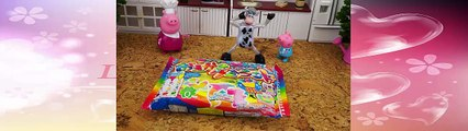 Kids Video Peppa Pig Building the Petting Zoo Learning Petting Animals for Children Toddle