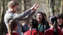 Prince Harry visited Epping Forest to Play with Children