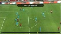 Pele Amazing Save -  Lille OSC vs Olympique Marseille  0-0  17.03.2017 (HD)