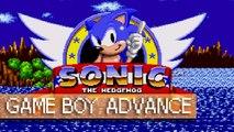 Sonic GBA (Homebrew) - Game Boy Advance (1080p 60fps)
