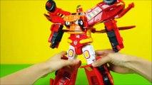 Hello carbot Transformers Robot Toys 헬로카봇 하이퍼빌디언 6단합체 빠른 변신 카봇 장난감 합체