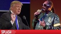 Präsident Trump reagiert auf Snoops Exekutionsvideo