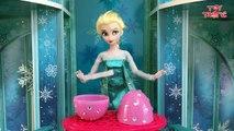 Frozen Elsa answers your Surprise Egg Questions on Jack Fros