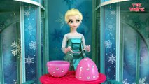 Frozen Elsa answers your Surprise Egg Questions on Jack Frost, Spiderman, Funny moments   more!--uCy