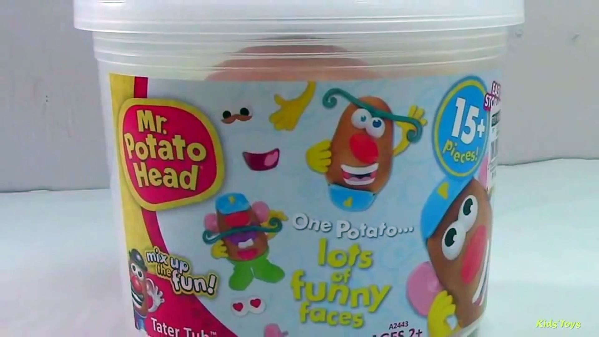 Mrs Potato Head Party Spudette and Mr Potato Head Tater Tub of Toy Story Movie