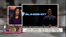 """Ray Allen : """"Stephen Curry est le meilleur shooteur de l'histoire de la NBA"""""""