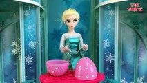 Frozen Elsa answers your Surprise Egg Questions on Jack Frost, Spi