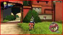Naruto Rise of a Ninja Lets Play 2: Find Konohamaru, Third Hokages Grandson!