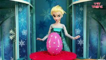 Frozen Elsa answers your Surprise Egg Questions on Jack Frost, Spiderman, Funny