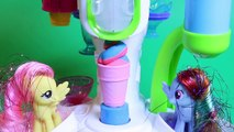 Крем доч лед идеальный играть играть-DOH Набор для игр Обзор Шоппе милая Игрушки твист распаковка Hasbro