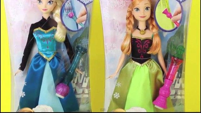 Frozen Elsa e Anna Quarto do Castelo Shopkins Barbie Ovos Surpresas Disney Toys. Em Portug