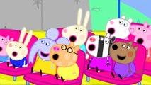 Пеппа свинья Школа автобус поездка раскраска страницы Пеппа свинья раскраска Книга песни для Дети