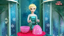 Frozen Elsa answers your Surprise Egg Questions on Jack Frost, Spiderman, Funny mo