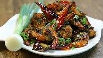 How To Make Prawns Stir Fry | Prawns Stir Fry Recipe | The Bombay Chef - Varun Inamdar