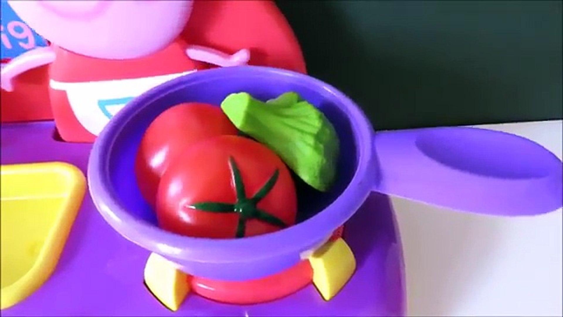 И Цвет резка фрукты кухня Узнайте имен из Пеппа свинья песок Комплект Кому Это овощи липучка с