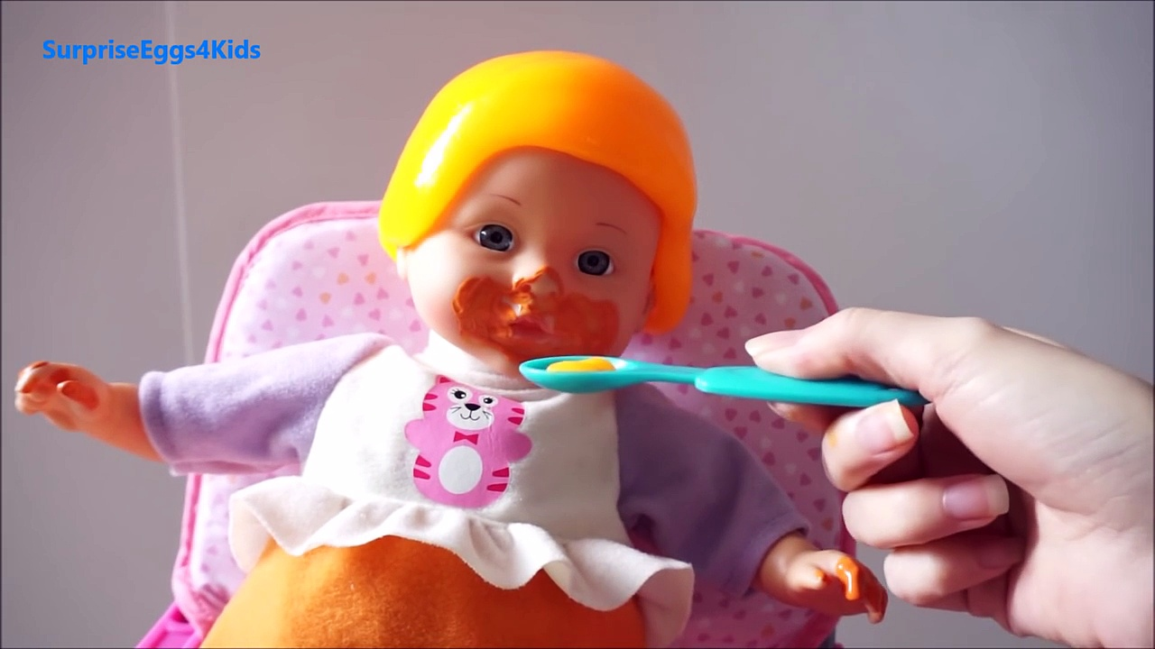 BABY ALIVE Lucy Dolls New VTech Baby Amaze Mealtime Learning Toy Baby Food & Bottle Disne