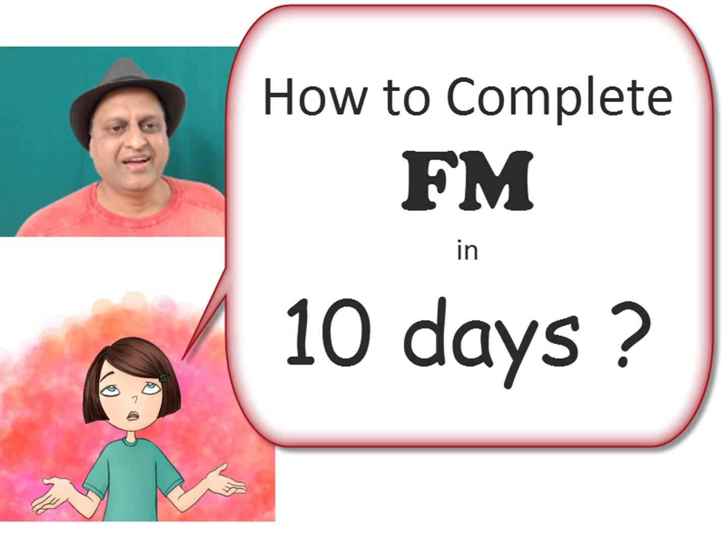 FM Paper Secret Leaked. Tips to Complete Financial Management in 10 days. Be FM topper