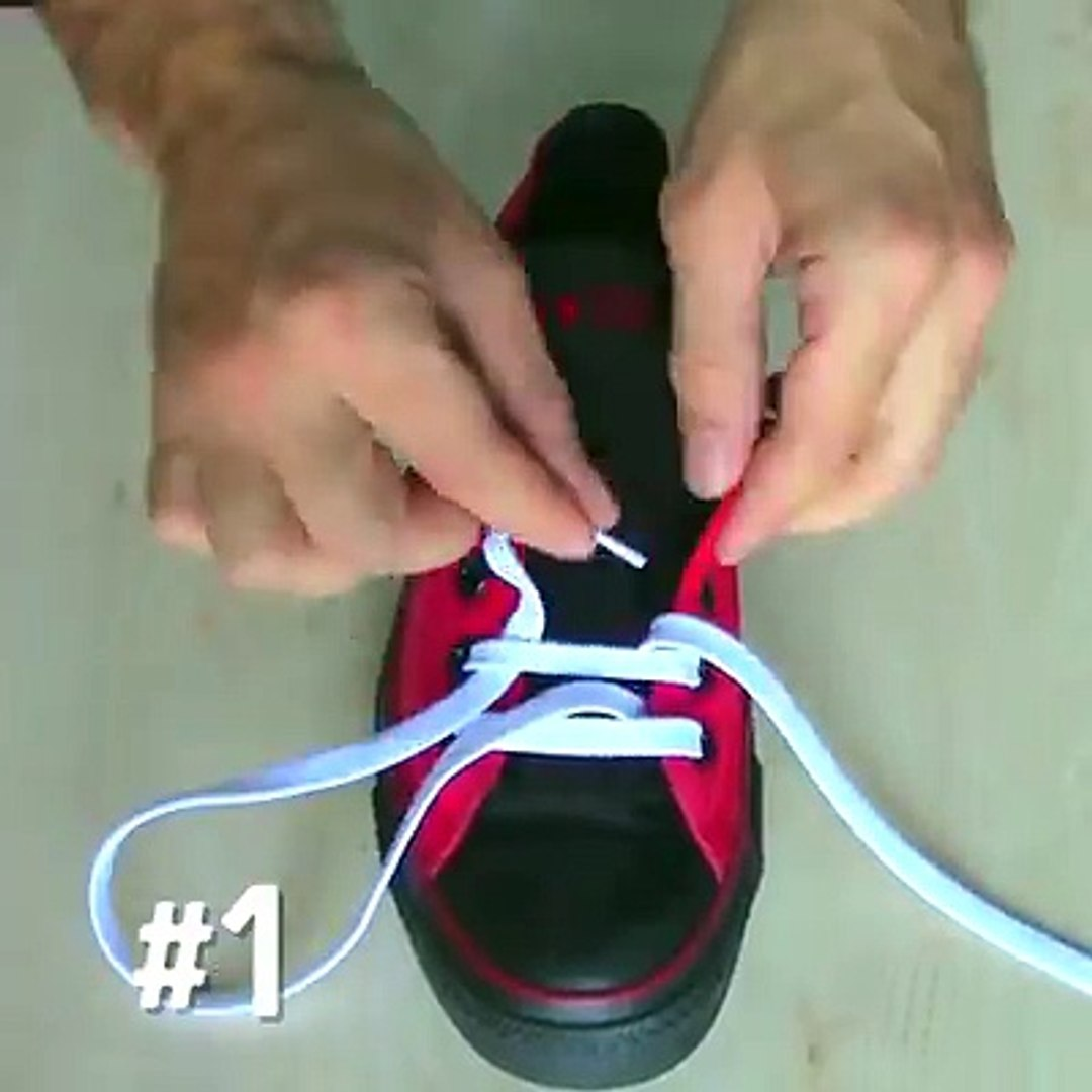 5 Ways to Lace Shoes