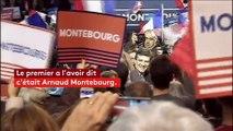 """""""Je suis le candidat de la feuille de paie"""" : la formule de Montebourg reprise par Valls, puis Hamon"""