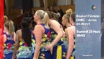 BA L2 Basket féminin en direct : DMBC vs ARRAS le 25 Mars !