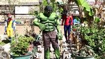 Venom Slime Morphing Spiderman & Wolverine into Carnage with Hulk !! - Funny Superhero IRL