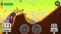 Hill Climb Racing Monster Finger fully upgraded