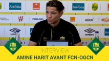 Amine Harit avant FCN-OGCN