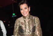Kris Jenner Bares Her Boobs In See-Through Dress