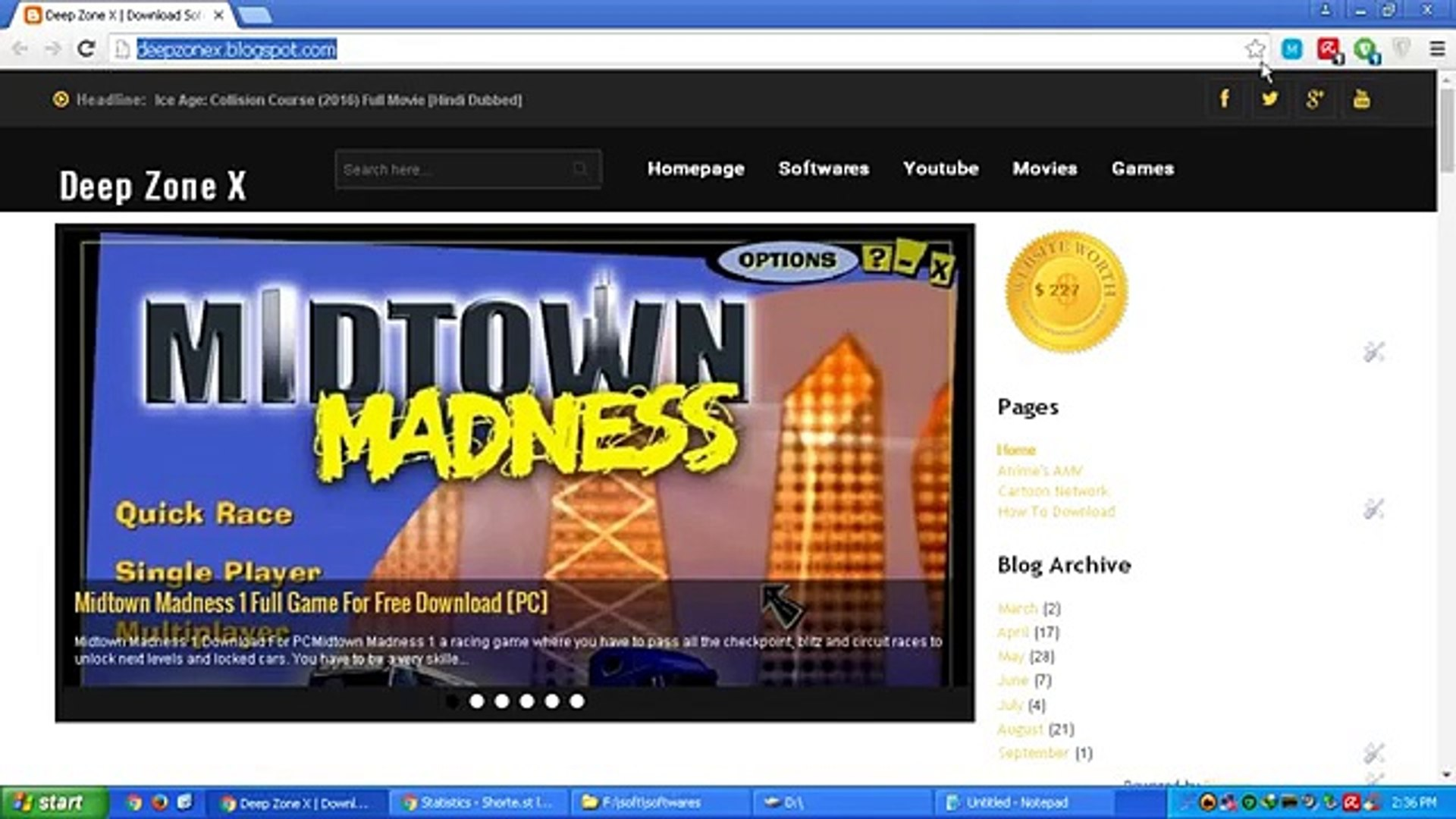 midtown madness 4 free download full version for pc