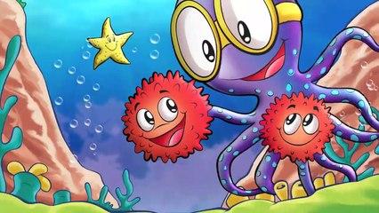 """Spanish story: """"Orlando El Pulpo Valiente"""" ( Orlando the brave octopus)"""