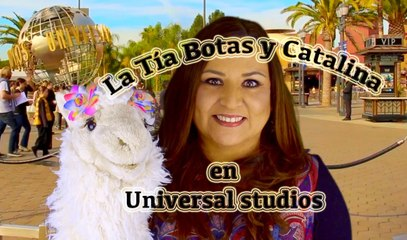 Catalina visited Universal Studios / Episode 4/10