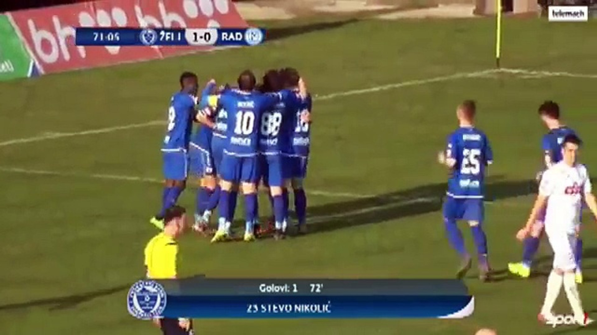 Zeljeznicar 2:0 Radnik Bijeljina (Bosnian and Herzegovian Cup. 15 March 2017)