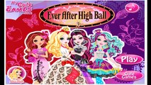 Ever After High - Ever After High Ball | Ever After High Dress Up Game Episode