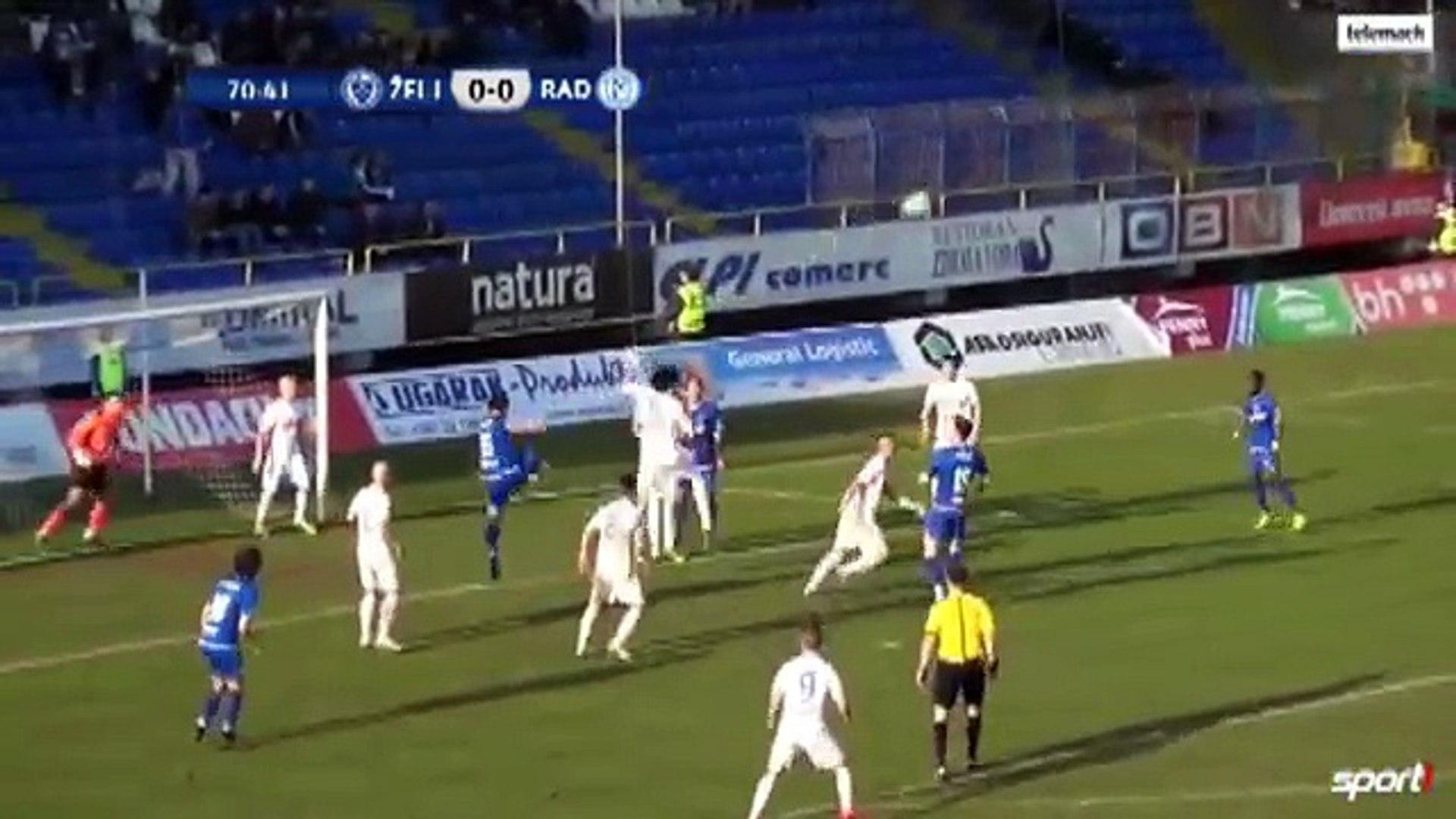 Zeljeznicar 1:0 Radnik Bijeljina (Bosnian and Herzegovian Cup. 15 March 2017)