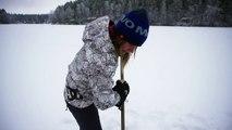 Plongée en apnée: Johanna Nordblad, une sirène dans l'eau glacée