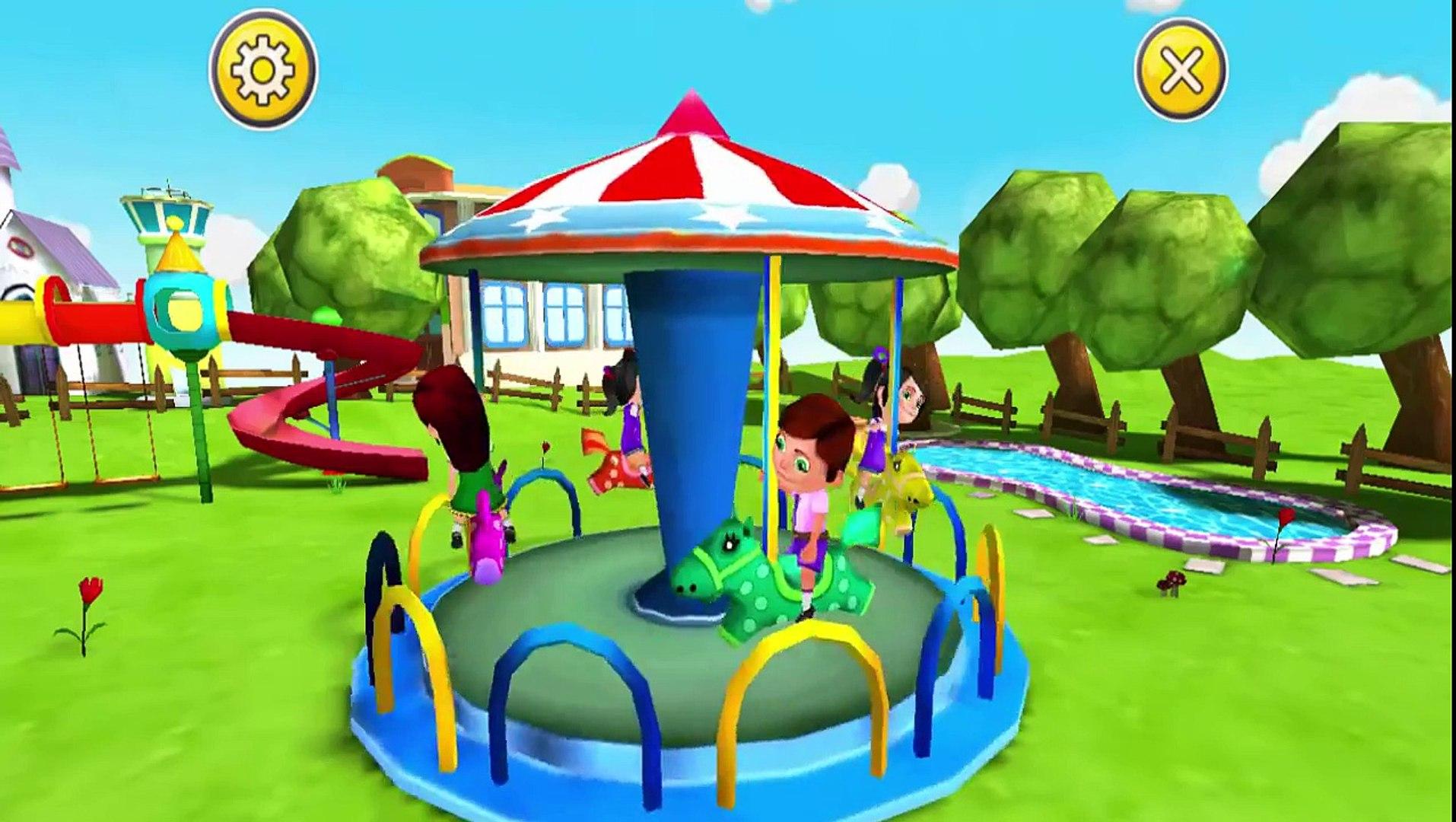 Обратно в школу дети игры ребенок играть и изучать цвета, цифры забота игры для детей и Фа