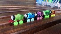 Spooky Thomas & Friends Light Up Racer thomas train Glow Racers Minis Glow in Dark Spookta
