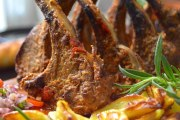 lamb chops recipe , mutton chops , how to cook lamb chops , grilled lamb chops recipe.