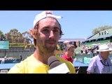 Interview: Jordan Thompson (AUS) after winning rubber 1