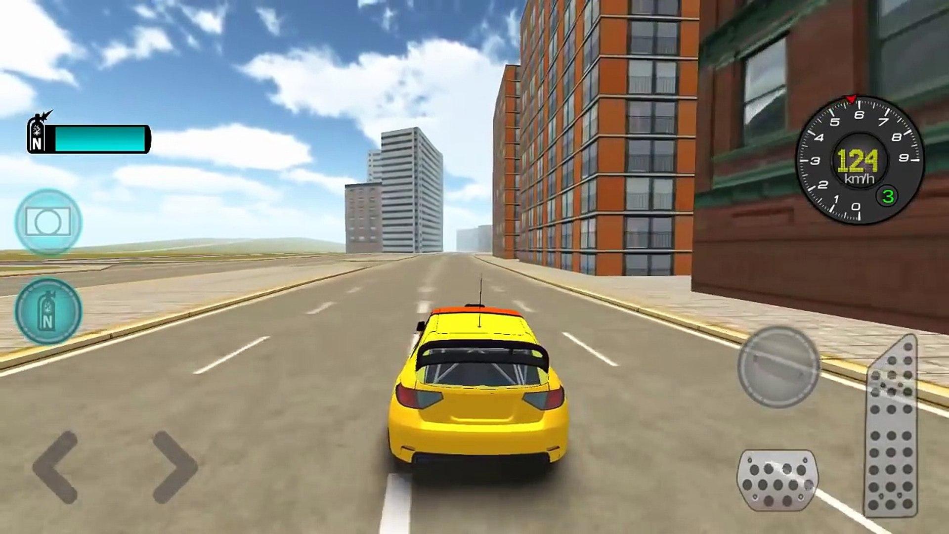 Андроид водить машину Игры Новые функции ралли имитатор hd