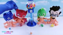 Gumball Learning video learn colors PJ Masks Baby toy toddlers babies preschoolers toys en