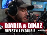 Djadja & Dinaz freestyle exclusif jamais entendu à la radio #PlanèteRap