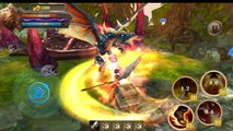 Kayle League Of Legends android game first look gameplay español