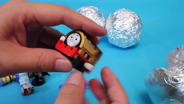 Surprise Eggs Glitter Disney Cars, Inside Out, Thomas, Minions Toys 서프라이즈 에그 뽀로로 타요 폴리 장난감