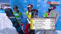 ChM 2017 freestyle et snowboard à Sierra Nevada, snowboard cross F, 12 mars 2017 (argent pour Trespeuch)